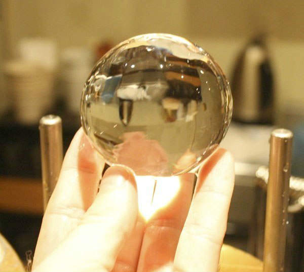 Perfect Ice Sphere for elegant drinks and cocktail parties NYS & New York City